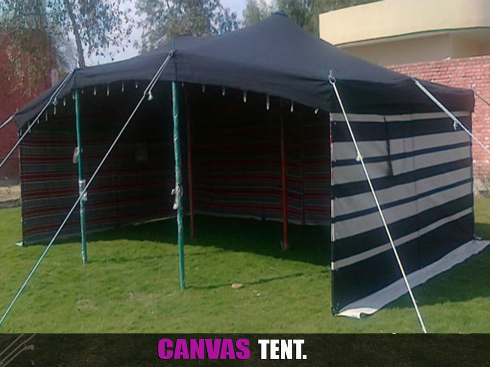 Arabian style canvas tent