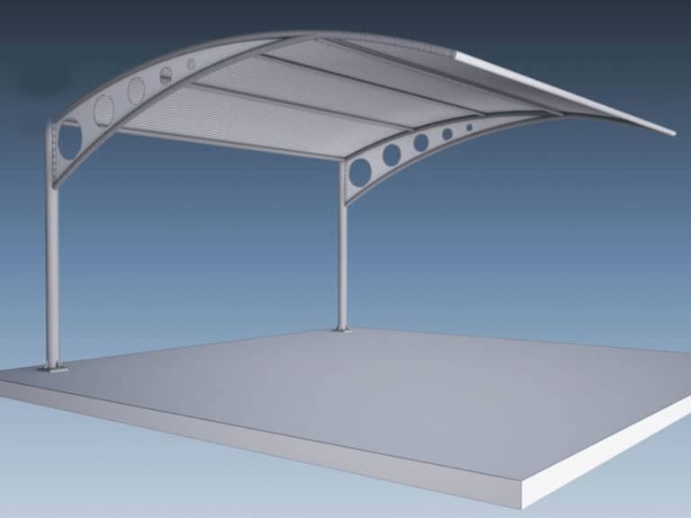 cantilever shade