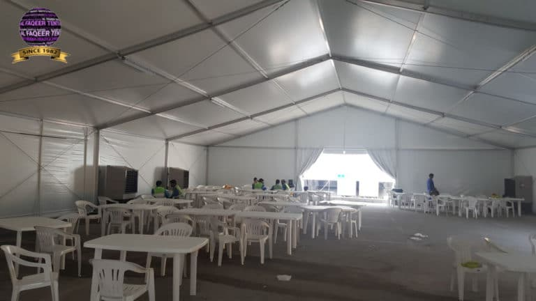 project of labour tents